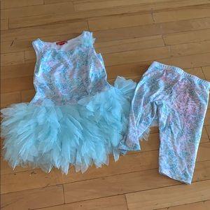Kate Mack tunic tutu outfit 4t